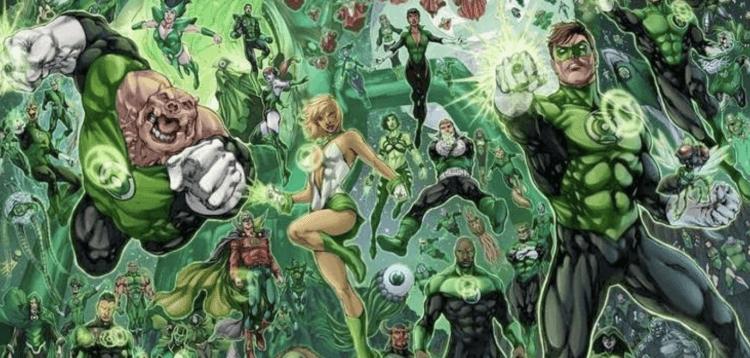綠燈戰警軍團 (The Green Lantern Corps) 似乎原本也會在《正義聯盟》裡登場。