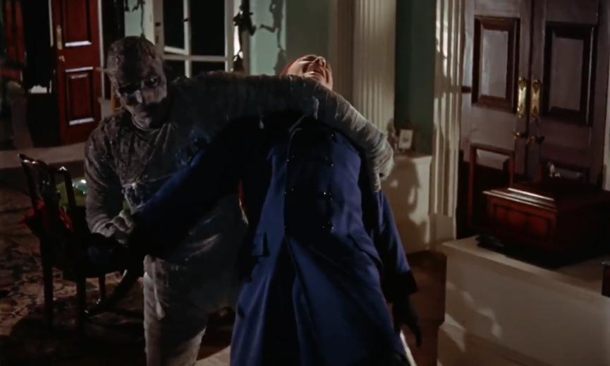 50 年代電影技術進步,讓《 永眠的詛咒 》更富有娛樂性。