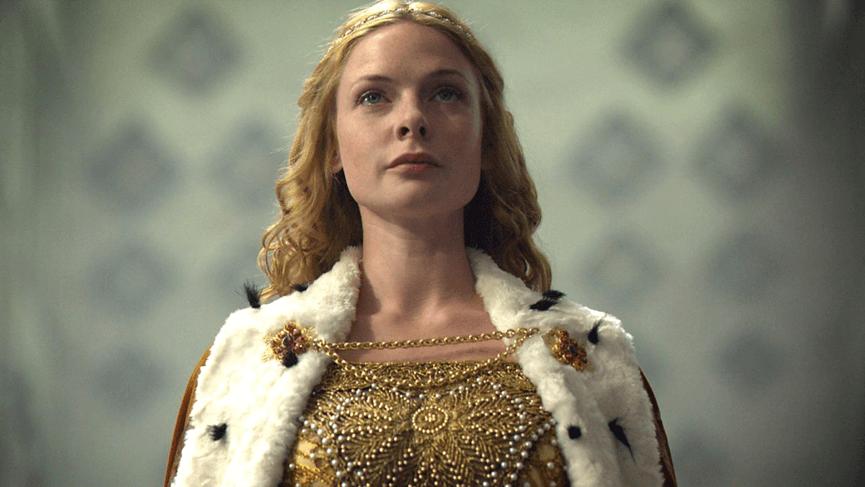 蕾貝卡佛格森 《 白王后 》 劇照 。