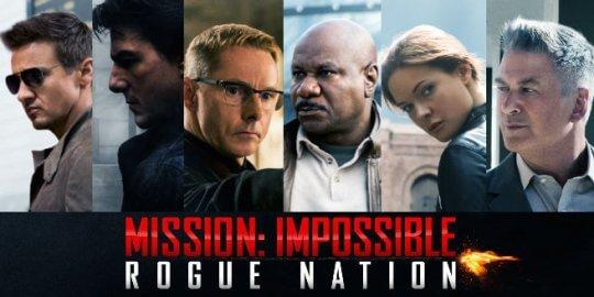 《不可能的任務:失控國度》劇照。