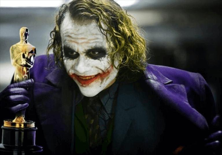 由希斯萊傑飾演的 DC《蝙蝠俠》系列中的超級反派「小丑」已成絕響。