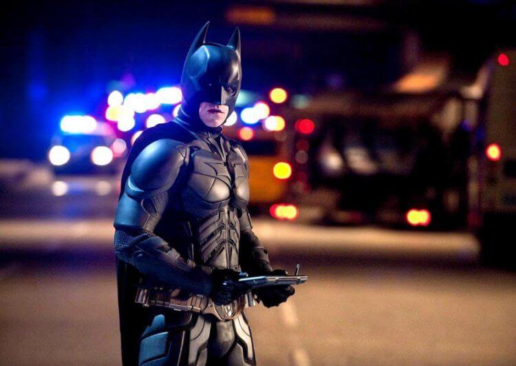 《黑暗騎士:黎明昇起》(Dark Knight Rises) 劇照。