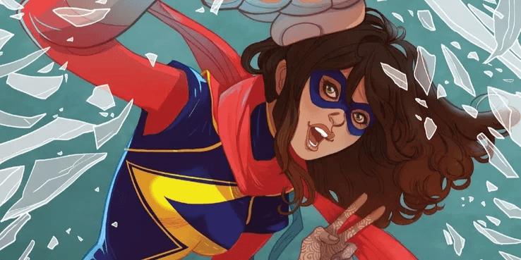 漫威漫畫中的少女英雄「驚奇女士」擁有許多不同的超能力,Disney+ 影集將如何呈現令人好奇。