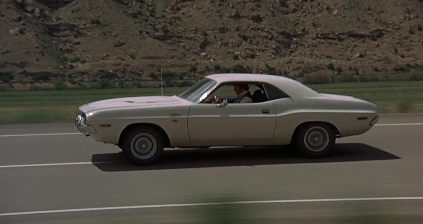 電影《 消失點 》中 道奇汽車的 挑戰者 ,代表無拘無束的自由。