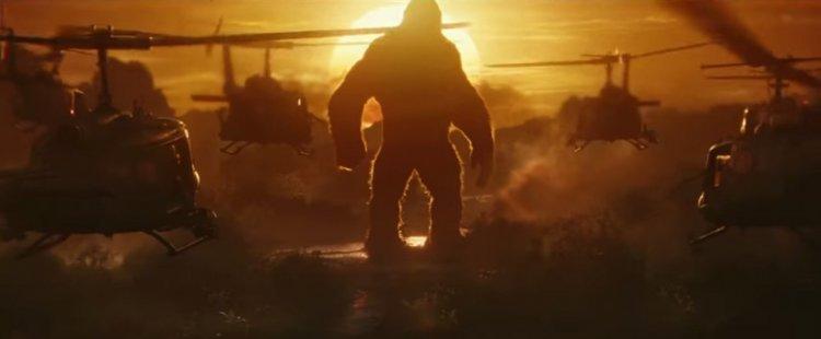 《金剛:骷髏島》劇照。