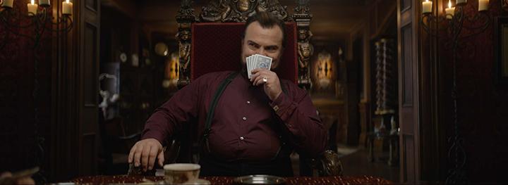 導演 : 艾利羅斯對 傑克布萊克 在《 滴答屋 》中的表現讚譽有加。