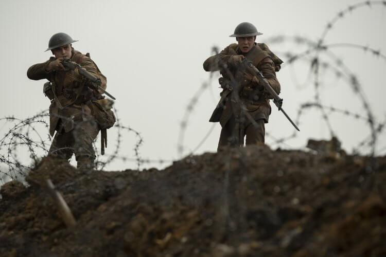 導演山姆曼德斯 (Sam Mendes) 執導的戰爭片《1917》已拿下第 77 屆金球獎「劇情類最佳影片」「最佳導演」兩項大獎,奧斯卡金像獎 10 項入圍,1/30 起台灣上映