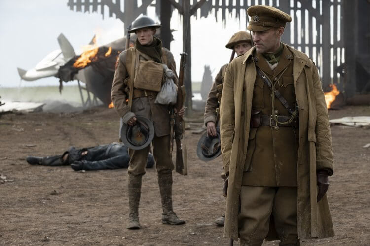 《1917》演出卡司十分華麗,其中包括柯林佛斯 (Colin Firth)、班尼迪克康柏拜區 (Benedict Cumberbatch)......等。