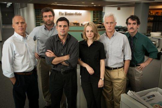 馬克魯法洛演出奧斯卡最佳影片《驚爆焦點》(Spotlight) 。