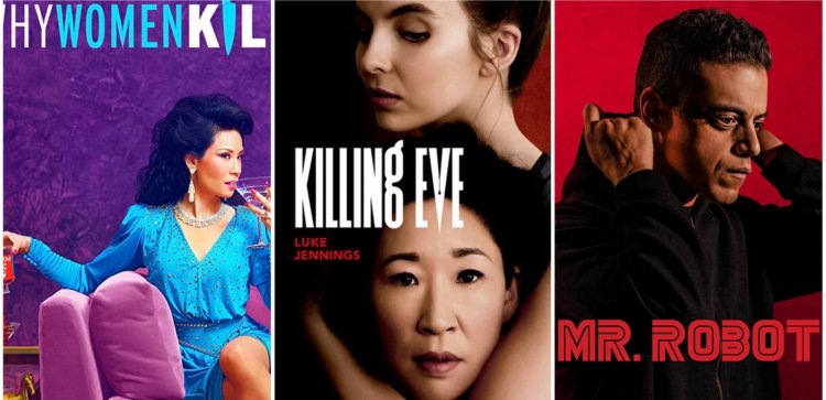 台灣觀眾瘋美劇,愛奇藝台灣站引進《致命女人》《追殺夏娃》《駭客軍團》等話題影集充實線上串流影音節目內容。