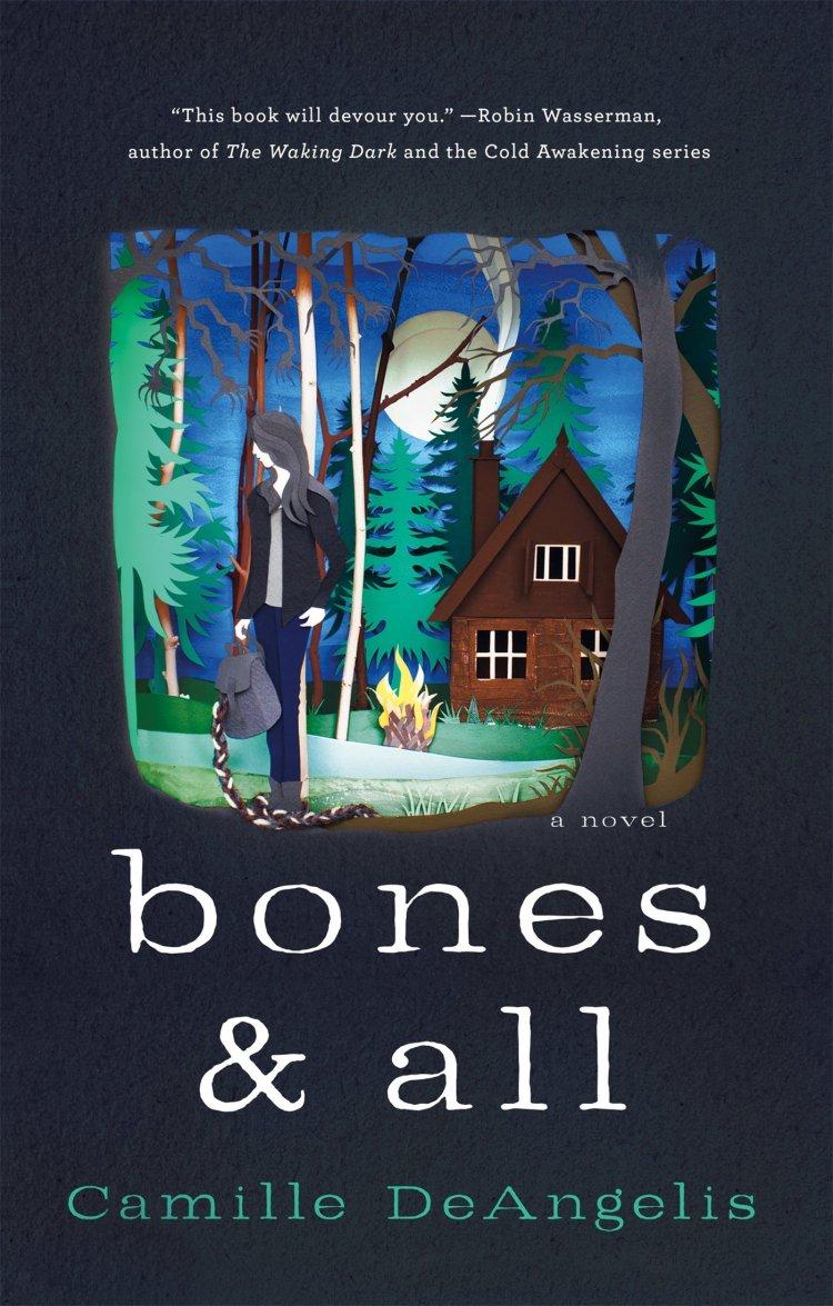《Bones & All》美國書封。