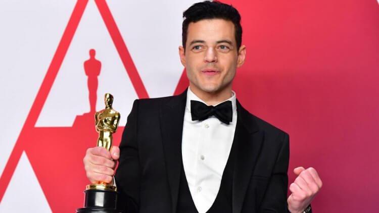 雷米馬利克 (Rami Malek) 憑藉在《波希米亞狂想曲》獲得奧斯卡最佳男主角獎。
