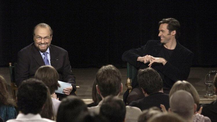 詹姆斯里普頓訪問休傑克曼。