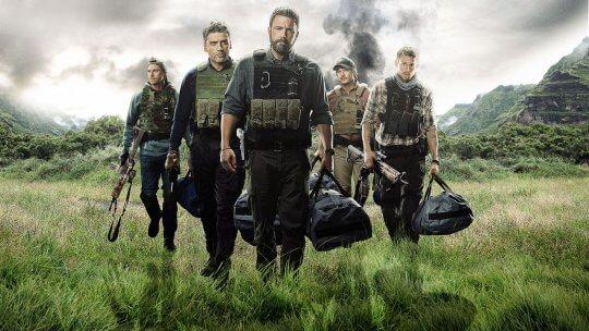 班艾佛列克 (Ben Affleck) 主演的《三重邊界》(Triple Frontier)