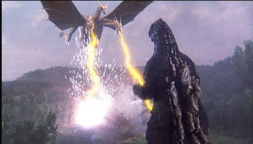 《哥吉拉vs王者基多拉》劇照