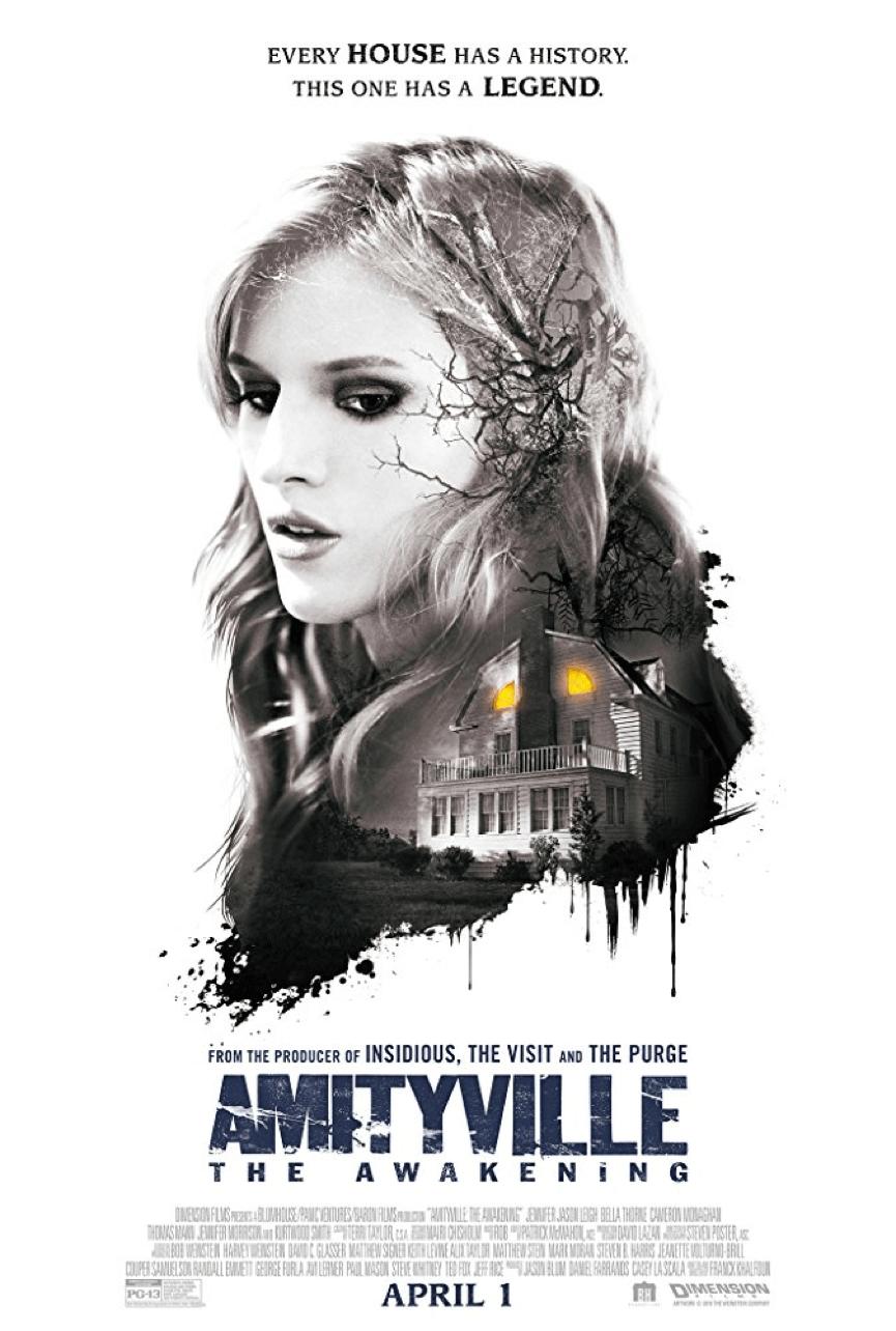 基於 阿米提維爾 鬼屋 故事改編的電影續集 《 陰宅2 》 電影 海報