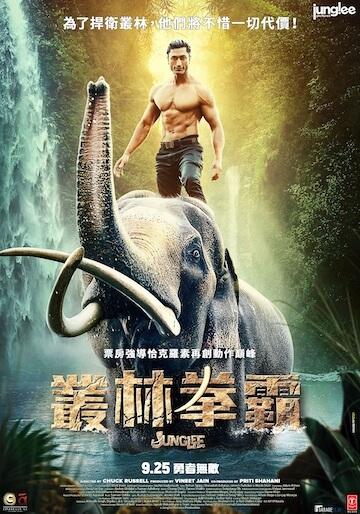《叢林拳霸》電影海報。