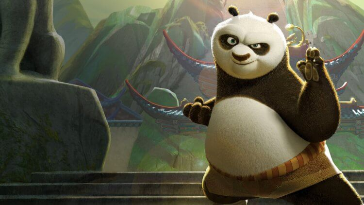 《功夫熊貓》電影劇照。