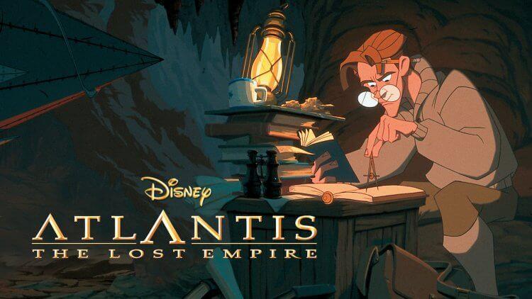 《失落的帝國》(Atlantis: The Lost Empire) 宣傳照