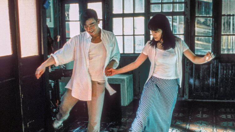 吉本芭娜娜著作改編的香港電影《我愛廚房》劇照。