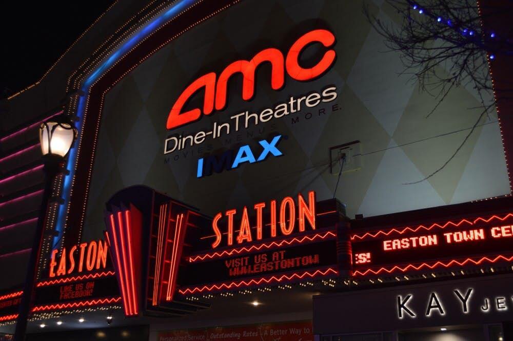 美國連鎖電影院 AMC。
