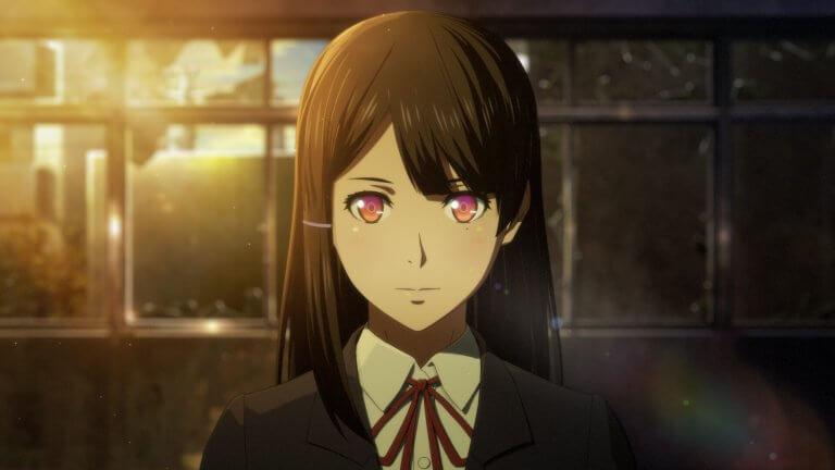 動畫電影《相對世界。明日終結?》中由内田真礼配音演出的女主角泉琴莉。