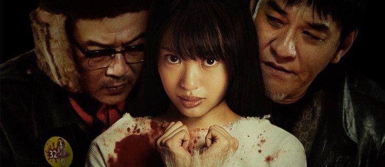 白石和彌導演電影《變態粉絲綁架案》宣傳照。