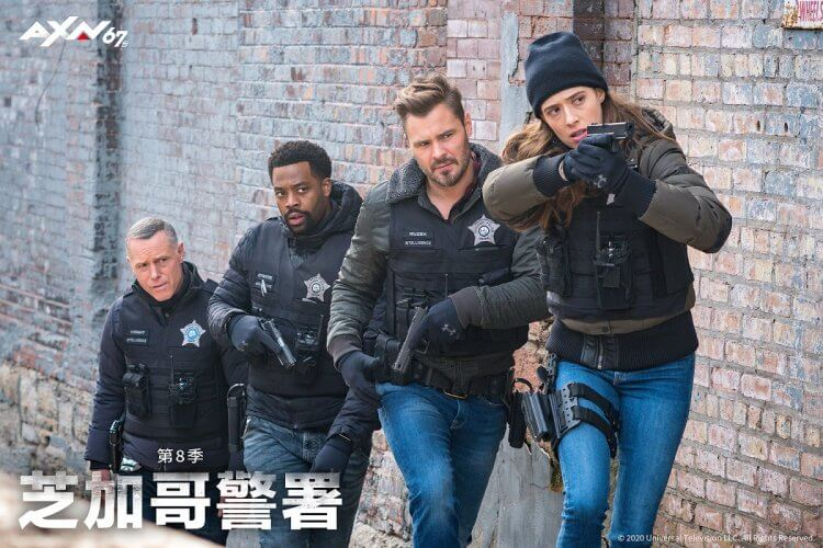 《芝加哥警署》第八季劇照。
