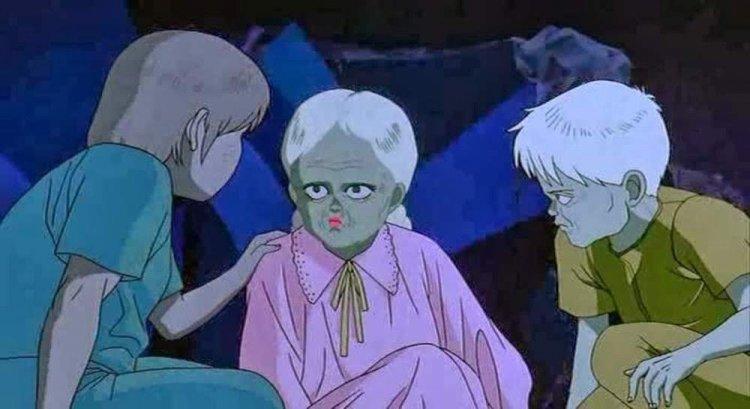 大友克洋動畫電影《阿基拉》中的超能力孩童。