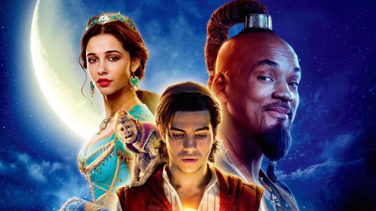 《阿拉丁》(Aladdin) 劇照。