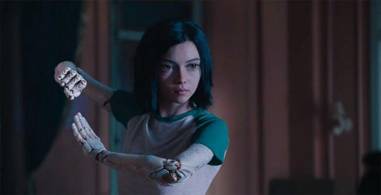 改編自經典漫畫《銃夢》的科幻電影《艾莉塔:戰鬥天使》。