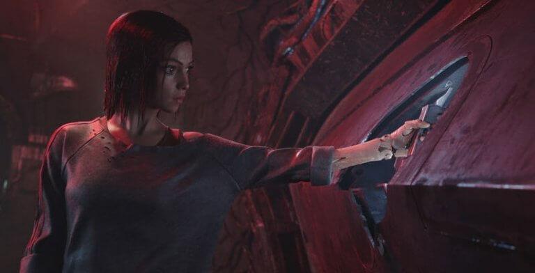 《艾莉塔:戰鬥天使》劇照。