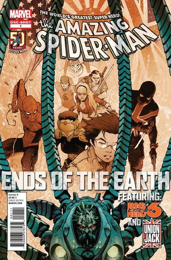 漫畫《The Amazing Spider-Man》〈Ends of the Earth〉。