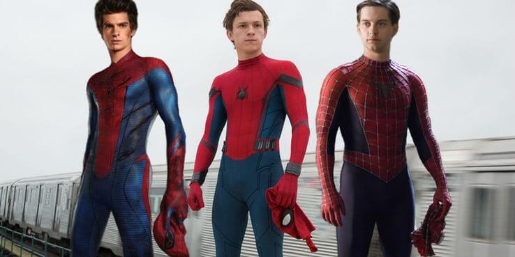 若歷代《 蜘蛛人 》都出現將會更有「笑」果。