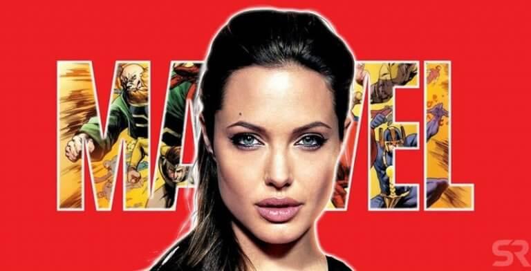 安潔莉娜裘莉即將加入漫威超級英雄電影系列!據傳她將擔任《永恆族》重要角色。
