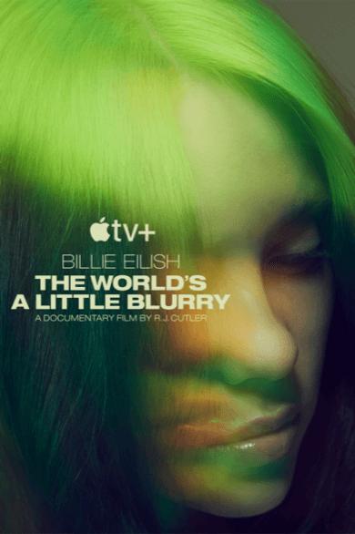 《怪奇比莉 Billie Eilish:我眼中的迷濛世界》海報。