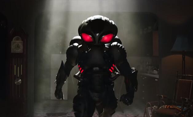 《水行俠》中的反派角色:黑蝠鱝,由葉海亞阿巴杜馬汀二世飾演。