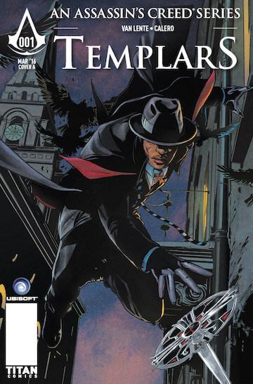 漫畫《刺客教條:聖殿騎士》(Assassin's Creed: Templars)。