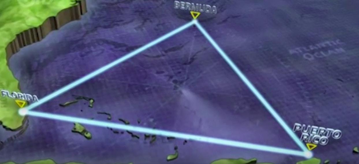 有傳言指出亞特蘭提斯的遺址,正是百慕達神秘三角位置。