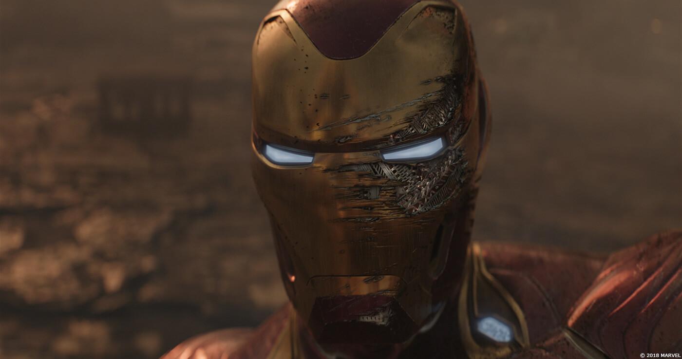 電腦 動畫 特效 讓 復仇者聯盟 無限之戰 電影 中的 鋼鐵人 尖端裝甲 更顯真實帥氣