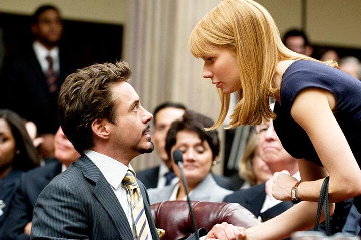 讓 葛妮絲派特洛 成為「 小辣椒 」的《 鋼鐵人 》系列電影劇照。