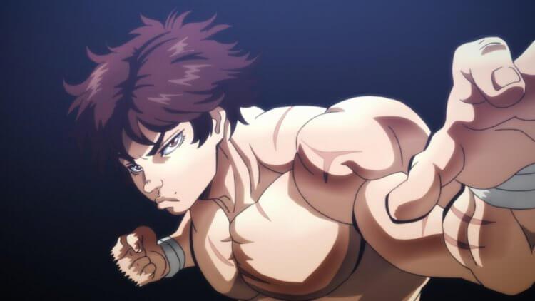 Netflix 上架日本動畫影集《刃牙 : 大擂台賽的傳說》劇照。