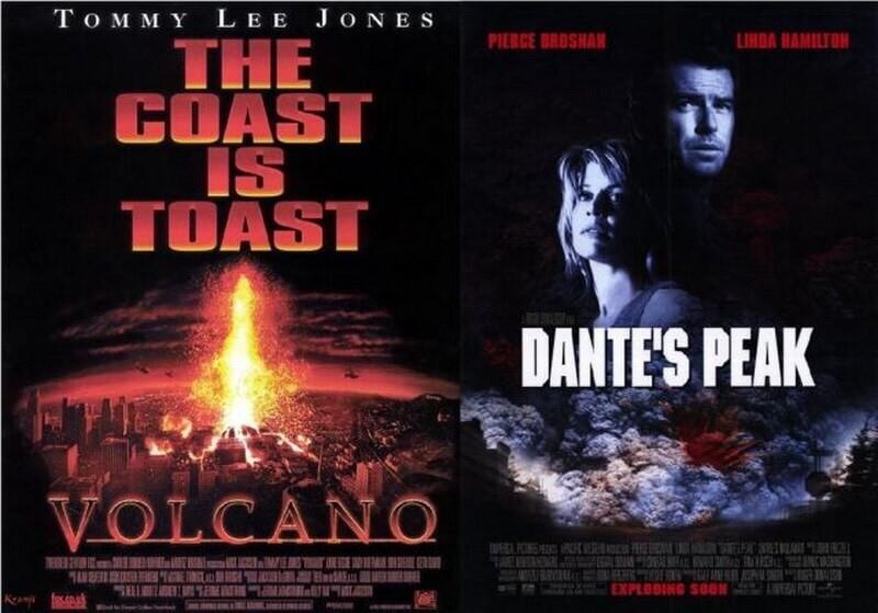 1997年,福斯電影《 火山爆發 》與環球電影《 天崩地裂 》撞檔期也撞題材,成果與票房街不盡如意。