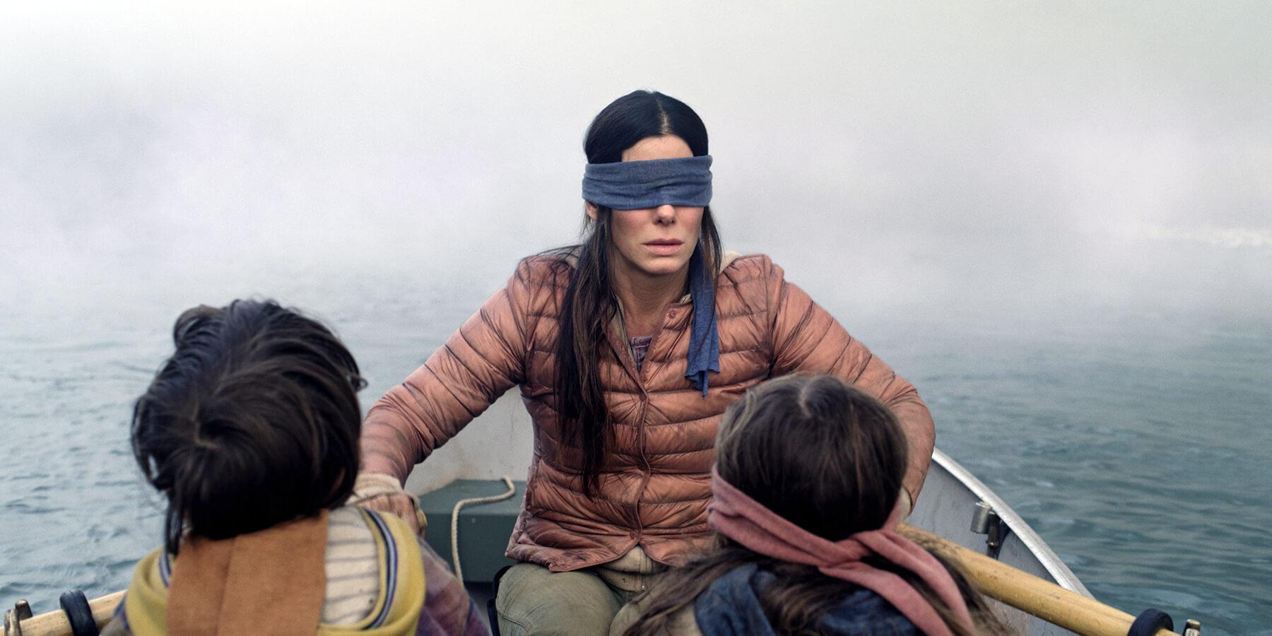 珊卓布拉克在《蒙上你的眼》的劇照