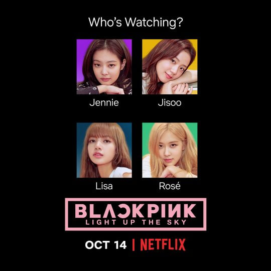 BLACKPINK 將在 Netflix 平臺推出紀錄片