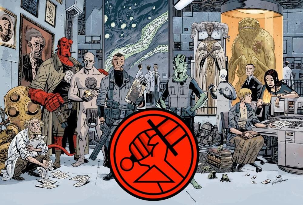 《 地獄怪客 》系列漫畫中出現的 B.P.R.D.。