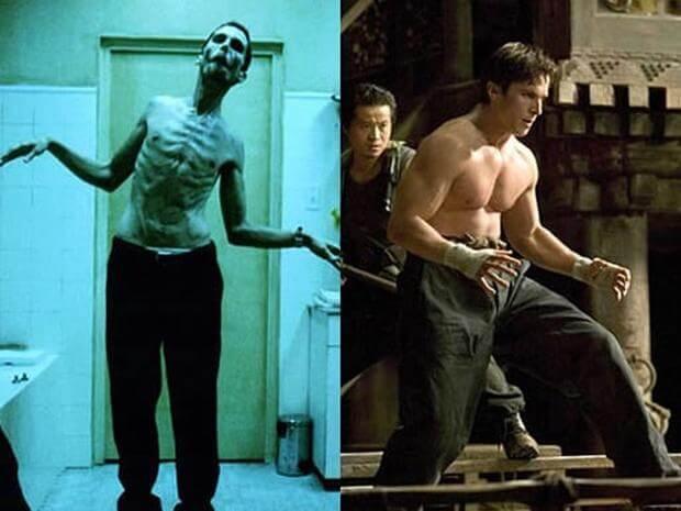 克里斯汀貝爾 (Christian Bale) 在《燃燒鬥魂》(The Fighter) 中再次減重。