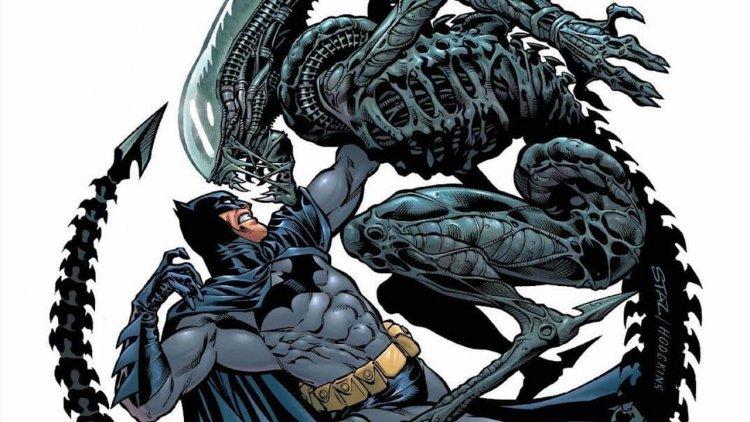 制衡超級英雄「蝙蝠俠」的兵器是什麼?《蝙蝠俠/異形2》裡運用「異形」混「小丑」、「毒藤女」等人的基因製造戰隊首圖