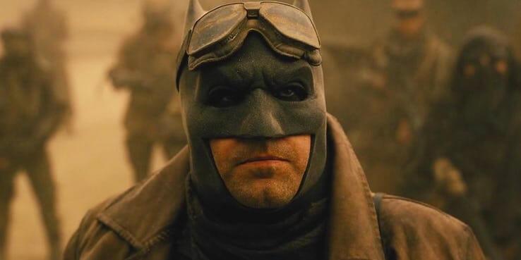 《蝙蝠俠對超人:正義曙光》中的蝙蝠俠,由班艾佛列克飾演。