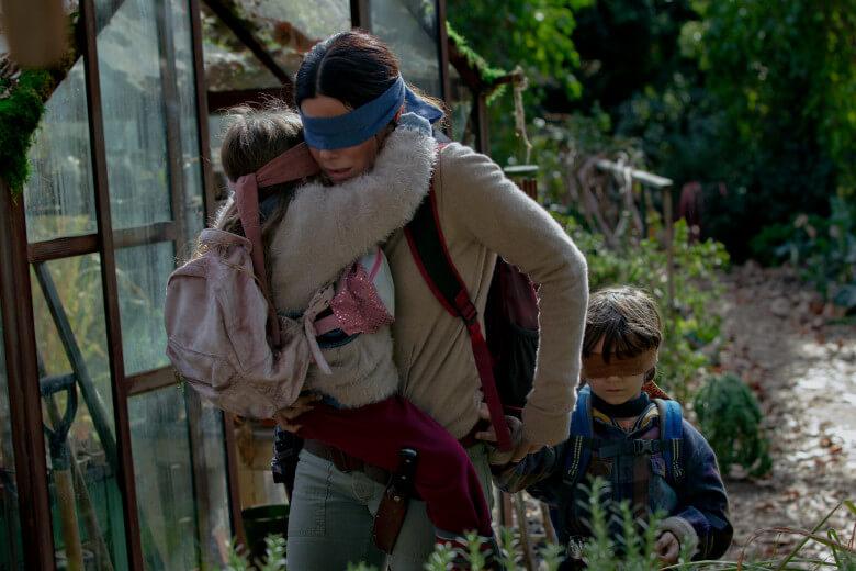 Netflix 網飛原創驚悚電影《蒙上你的眼》劇照。